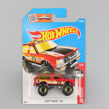 2017 Children Hot wheels vehicle car toys diecast model alloy metal hotwheels truck chevy ford muscle camaro gift for kids boys