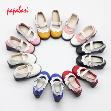 7.8cm high heels dolls shoes For 16inch 1/3 BJD shoes, sandals fit 60cm SD dolls children Christmas gift free shipping