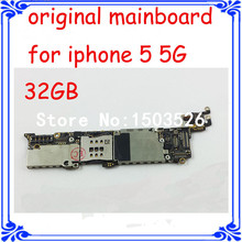 32GB original motherboard for iphone 5 5G unlock mainboard for iphone full function logic board GSM version 1000% good quality