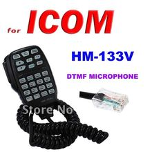 HM-133V DTMF Microphone with Keypad Lighting  for ICOM Mobile Transceiver IC/208H/2100H, 2200H, 2720H, 2725E, V8000