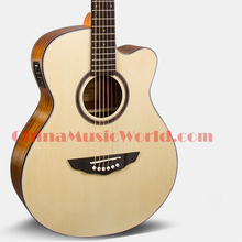 40 inch Spruce Top / Mahogany Back & Sides / AFANTI Electric Acoustic Guitar (ACM-648)