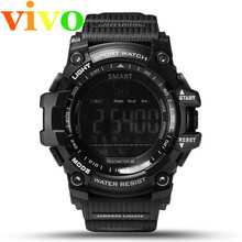 Android Phone EX16 Smart Watch vivo Bluetooth4.0 Waterproof pedometer smartwatch for Men Outdoor/Message Reminder Suit Cellphone(China)