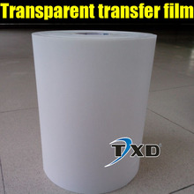 50CMX25M/Roll High-Quality printable Heat Transfer Vinyl, digital printable PU transfer film with free shipping
