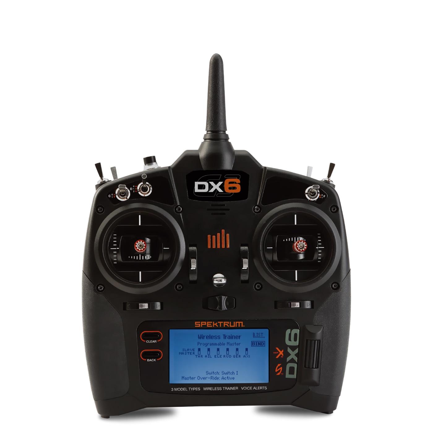 AR6210 DSMX Receiver RX Support DSM2 with Satellite for Spektrum RC Transmitter