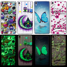 New Arrival 3D Cartoon Noctilucent Case For Sony Xperia XA Cover Animal Plant Soft TPU Silicone Casing Housing Coque Fundas Capa