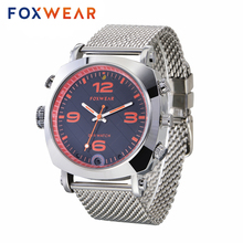 Foxwear F25 Smart Camera Watch Remote Control by WIFI Sports Action Voice Video Recorder DVR With Led Flashlight for Android iOS