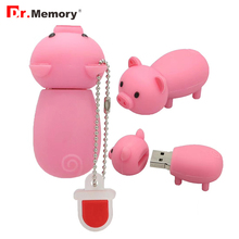 Dr.Memory Cute Pig USB Flash Drive 32GB 16GB 8GB High Speed Pen Drive Download Memory Stick USB2.0 Disk Pendrive(China)