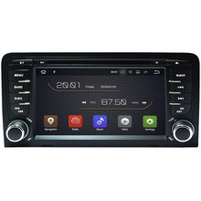 "7"" Android 7.1 2G RAM Car DVD Player GPS For Audi A3 S3 2003 2004-2010 2011 Car radio stereo headunit tape recorder support 4G"