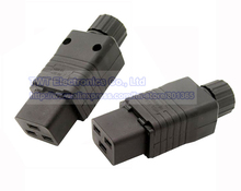 IEC 320 C19  Socket AC Power Cord/Cable Connector,16A/20A, Rewirable,2pcs ,Free shipping
