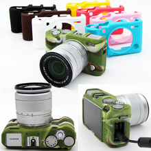 Soft Silicone Rubber Camera Protective Body Cover Case Bag Skin For FujiFilm Fuji X-A3 XA3 XA10 X-A10