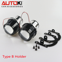 Free Shipping Autoki Newest Bi-xenon Projector Lens Fog Lamp Brightness with HID Bulb H11 Waterproof Special Used for Many Cars