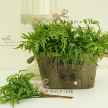 Export simulation high imitation green artificial plants for decoration available for a large number of wholesale jewelry