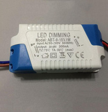 Dimming LED Drive Power 9W 12W 15W Outside Dimmable Constant Current Output Driver for Ceiling light 10PCS
