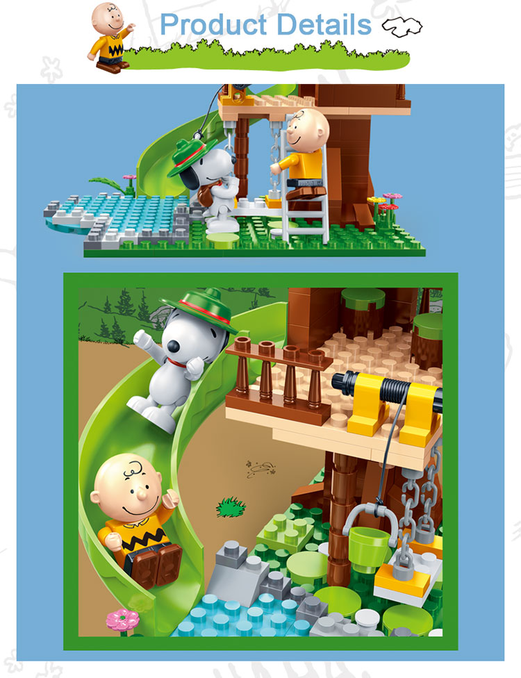BanBao 7515 Tree House with Slide Building Blocks 31