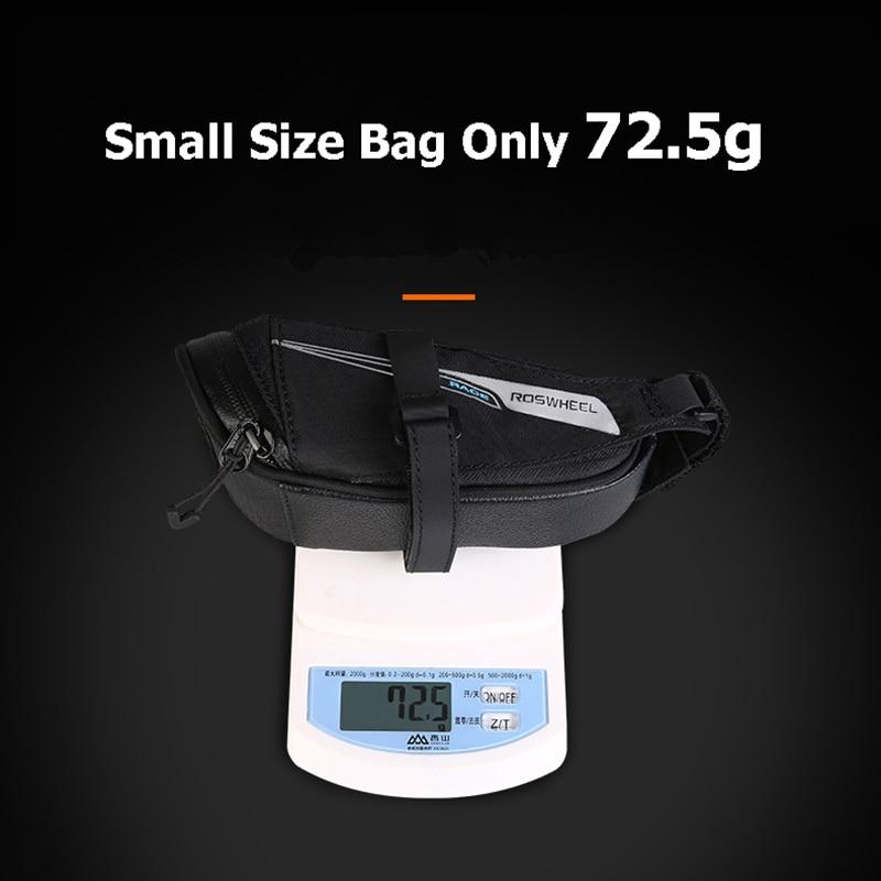 Bicycle Saddle Bag Tear Resistant Rainproof Cycling Rear Seat Bags MTB Road Bike Tail Repair Tools Pouch Bike Accessories BG0090 (7)