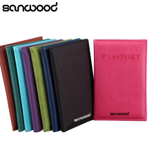 Travel Passport ID Card Cover Holder Case Faux Leather Protector Skin Organizer 922D(China)