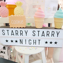 Milk cup Lamp  Ice Cream Lamp Led attractive Night Light for Children kids Cone Shaped Table LED Lamp Bedroom Decor Light Decor