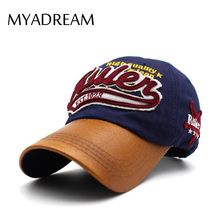 MYADREAM Letter Cloth Tag Patch Gorras Planas Hip Hop Baseball Cap Women Hats for Men Polo Racing Running Sport Hat Caps Gorro(China)