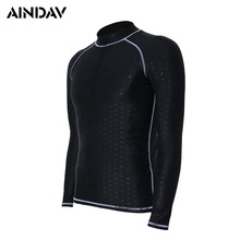 Waterproof Quick Dry Men Long Sleeves Sun Protection Clothing Women Diving Swimsuits Snorkeling Surfing Suits(China)
