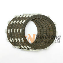 6 pcs Motorcycle Clutch Friction Plate For HONDA CB400 Super Four CB400AD CB400F CB400S CB400SA CB400SAD CB400SF CBR600F