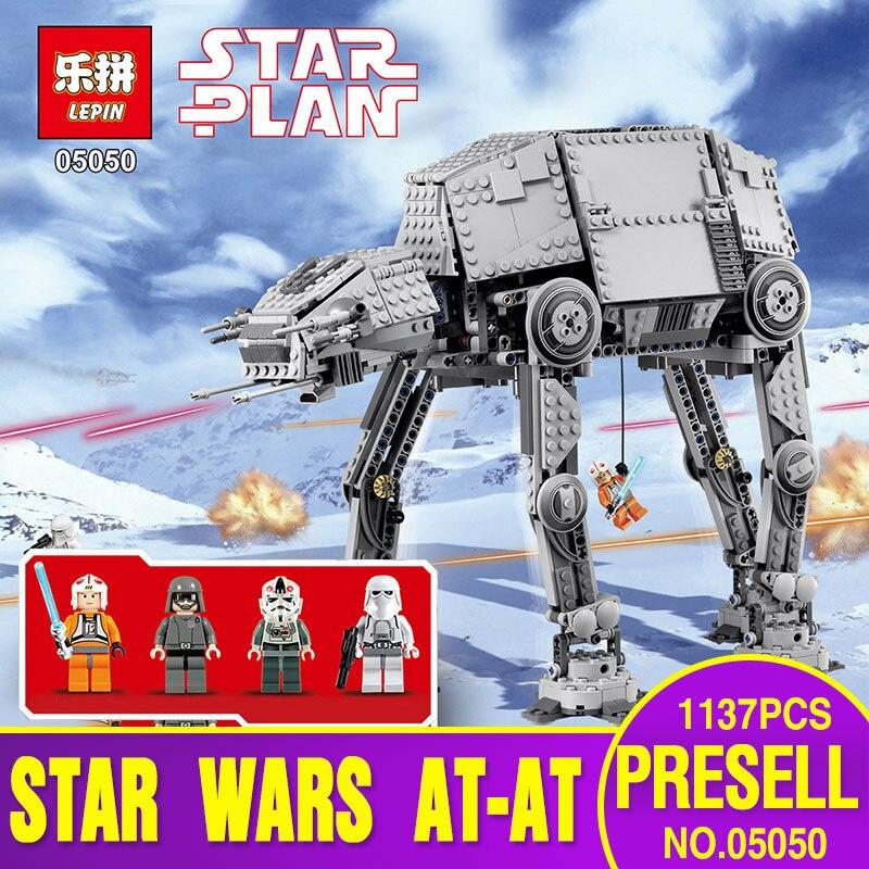 NEW Lepin 05050 Star War Series AT-AT the Robot El...