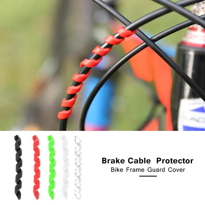O-ring Bike Cable Protect Bicycle Print Protector Shift//Brake Line Cover
