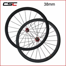 No Orificio Exterior Wheelset de La Bicicleta 38mm 50mm 60mm 88mm Clincher Ruedas de Carbono de China 23mm Ancho A271SB/F372SB Hub Pilar Sapim cx-ray