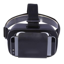 Hillsionly Black Google Cardboard VR BOX Virtual Reality 3D Glasses For Samsung s7 S6 S5 S4 /iPhone4-6 Inch Screen CellPhone