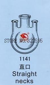 50ml/40*29*2 JOINT 3-neck Round Bottom STRAIGHT NECKS Flask Lab Glassware<br>