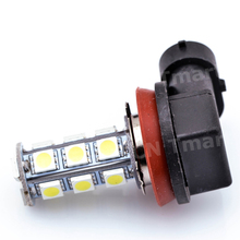Big Promotion White H11 18 LED 5050 SMD Car Auto Day Driving Fog Lights Headlight Lamp Bulb DC12V