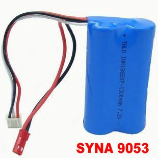 9053 RC helicopter spare parts 7.4V 1500mAh Li-ion battery DH 9053-26<br><br>Aliexpress