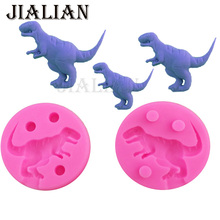3D Dinosaur Drago Shape Fondant Silicone Mold Jelly Chocolate, Soap ,Cake Decorating Tools DIY kitchen Baking accessories T0827