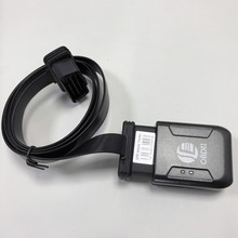Mini Plug Play OBD GPS Tracker Car GSM OBDII Vehicle Tracking Device OBD2 16 PIN interface gps locator with extend OBD cable(China)