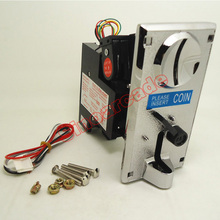 Advanced KAI-638C Zinc Alloy Front Plate Coin Selector coin Acceptor for Vending machines Arcade machines(China)