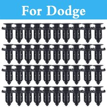 Plastic Rivets Retainer Clips Car Fender Auto Parts Panel Trim Clips For Dodge Durango Avenger Caliber Challenger Charger Dart