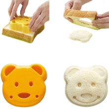 NEW Little Teddy Bear Shape Bread Cake Sandwich Mold Maker DIY Mold Cutter Craft