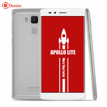 "Original Vernee Apollo Lite 4G Mobile Phone MTK6797 Helio X20 Deca Core 5.5"" FHD Android 6.0 4GB+32GB 16.0MP Touch ID Dual WiFi(China)"