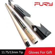 2016 High Quality Pool Cue Stick 11.75mm/13mm Tips With Billiard Cues Case Set Two Colors 9 Ball Biliardo Stecca China