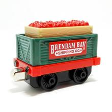 m009 Scarcity Edition Thomas and friend diecast magnetic Children's toy train brendam bay shipping co Red jam transport trucks(China)