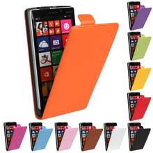 Luxury Genuine Real Leather Case Flip Cover Mobile Phone Accessories Bag Retro Vertical For Nokia LUMIA 930 N930 PS