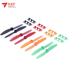 20 pairs DYS 4045 4X4.5 CW CCW Propeller Mini Multirotor Quadcopter Prop colorful free shipping(China)