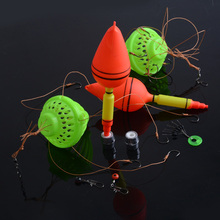 Fishing Tackle Sea Monster 1Set Silver Carp Fishing Float Strong Explosion Hooks with Box Fishing Equipment Pesca