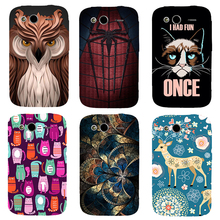 For HTC Wildfire S G13 Cover Beautiful Design Original Plastic Printed Cartoon Phone Case Printing Drawin Cell Phone Cases(China)