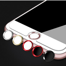 Touch ID Aluminum Home Button Sticker For iPhone 8 7 7 Plus 6 6s Plus SE 5s iPad Pro Fingerprint Identification Unlock Touch Key(China)