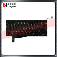 "New Black A1286 US Version Keyboard 2008 Year For Macbook Pro 15"" A1286 Engliahs Laptop Layout Keyboards Replacement"