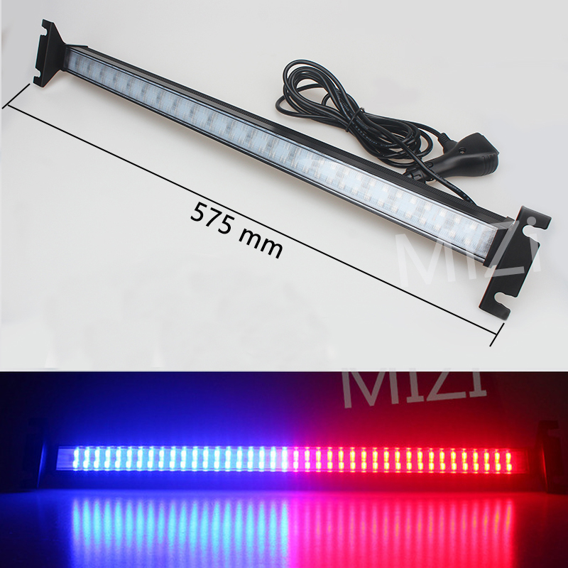 12/24V Car Flash Signal Emergency Fireman Police Beacon Windshield 80 Led Strobe Light Warning Light Car Truck High Power Bright<br>