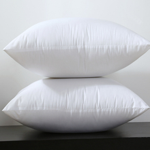 Square White Peached Fabric Cushion Insert Decorative Pillows PP cotton filling 450g for 45x45cm Sell by Piece(China)