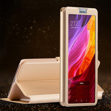 Buy Flip Case Doogee Shoot 1 2 Mix 2 BL5000 fundas Open View window leather cover DOOGEE BL5000 Shoot2 Mix2 kickstand coque for $1.17 in AliExpress store