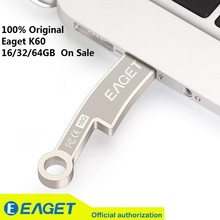 New Fashion!!EAGET K60 USB 3.0 flash drives pen drive 32G Knife Ancient Coins Metal Waterproof Gift Memory 16G 64GB On Sale