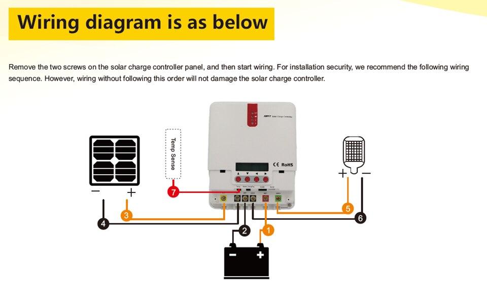 EASUN ICharger MPPT 48V 3OA -Wiring diagram